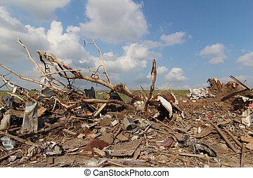 EF5 Tornado damage is extensive.