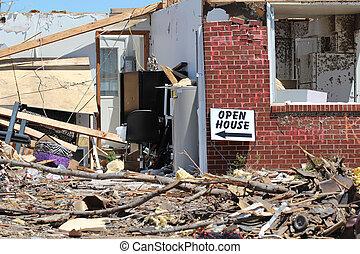 EF5 Tornado Humor - A sense of humor will help this...