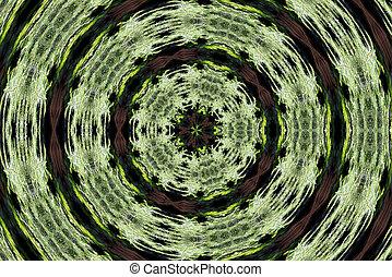 efecto, imagen, calidoscopio, ordenador generar