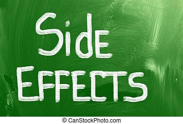 efectos secundarios, concepto