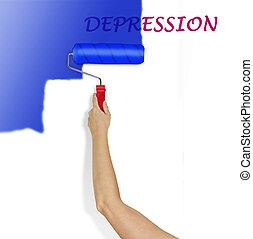 effacement, dépression