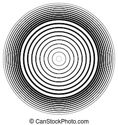 effect., abstratos, círculos, vector., ondulação, círculo,...