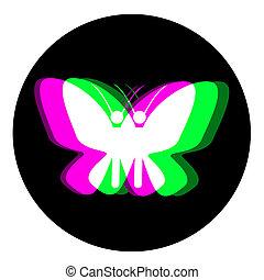 Effect butterfly