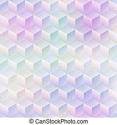 effect., mosaico, modello, colorato, seamless, grunge