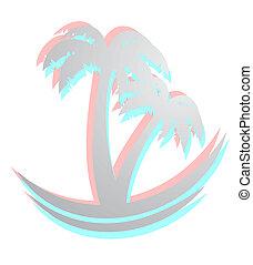 Effect palm