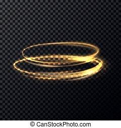 effect., resumen, brillante, luz trémula, luminoso, velocidad, ovals., lento, destello, anillos, encendido, rápido, partículas, fuego, tema, burst., ser, utilizado, poder, efecto, mudanza, paralelo, magia, ciencia, obturador, o