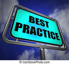 efficiënt, wegwijzer, praktijk, beter, indiceert,...