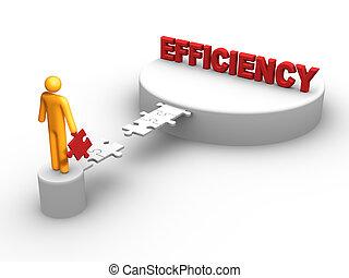 Efficiency - bridge to the efficiency