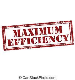 efficiency-stamp, maximum