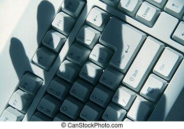 effraction électronique ordinateur
