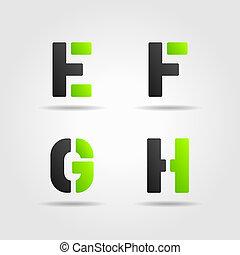efgh, verde