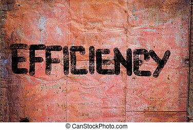 eficiência, conceito