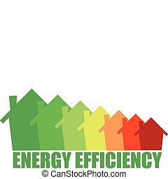 eficiencia, energía