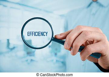 eficiencia, enfocado