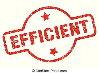 eficiente, selo