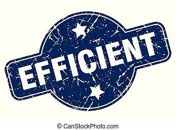 eficiente, sinal