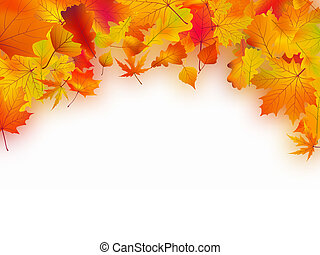 efterår forlader, faldet, baggrund