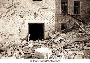 efter, jordbävning