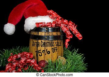efter, jul, försäljning