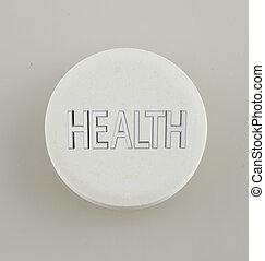 egészség, pirula