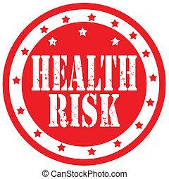 egészség, risk-stamp