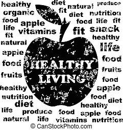 egészséges élénk