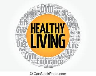 egészséges élénk, karika, bélyeg