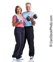 egészséges, párosít., öregedő, állóképesség