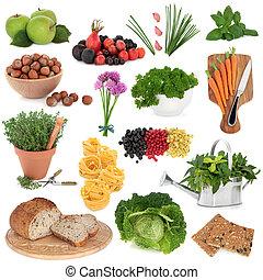 egészséges táplálék, mintaszalag