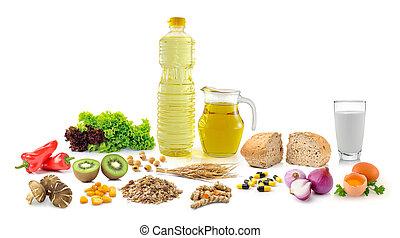 egészséges táplálék