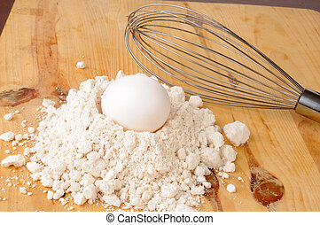 Egg and baking mix