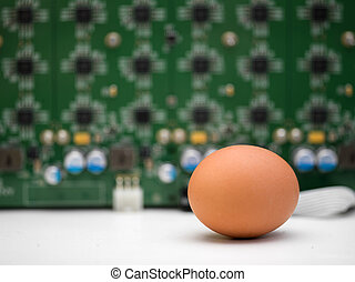 Egg And Computer