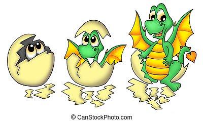 Egg and dragon