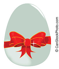 Egg and Ribbon