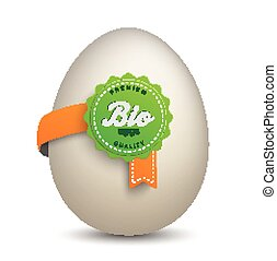 Egg Bio Label