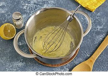 Egg Butter Sauce 4