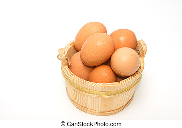 Egg collection isolated