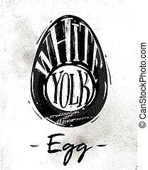 Egg cutting scheme