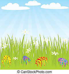 egg grass