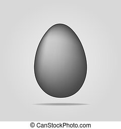 egg icon on a white background