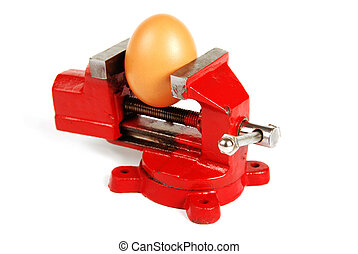 Egg in a Vice