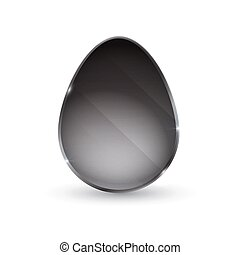 egg in the form of a glass