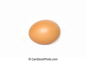 egg isolated on a whit background