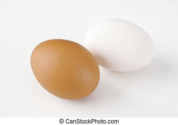 Egg on background