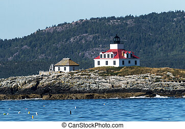 Egg Rock Lighthouse Maine