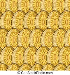 Egg Sun Pattern