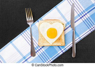 egg., uppe, sunny-side