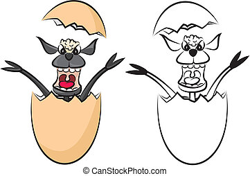 egg with lamb