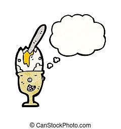 eggcup, dessin animé