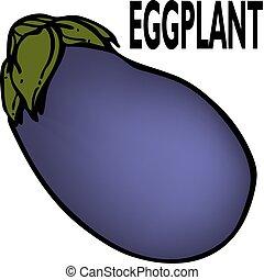 Eggplant - An image of a eggplant.